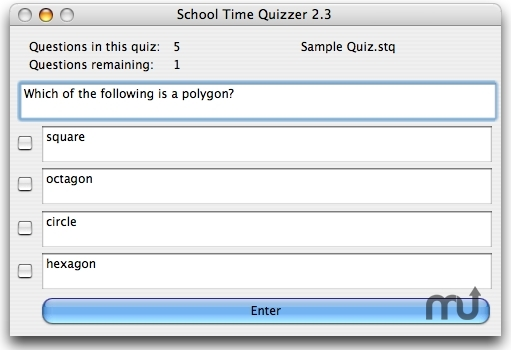Screenshot 1 for School Time Quizzer X