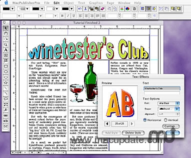 Screenshot 1 for Desktop Publisher Pro