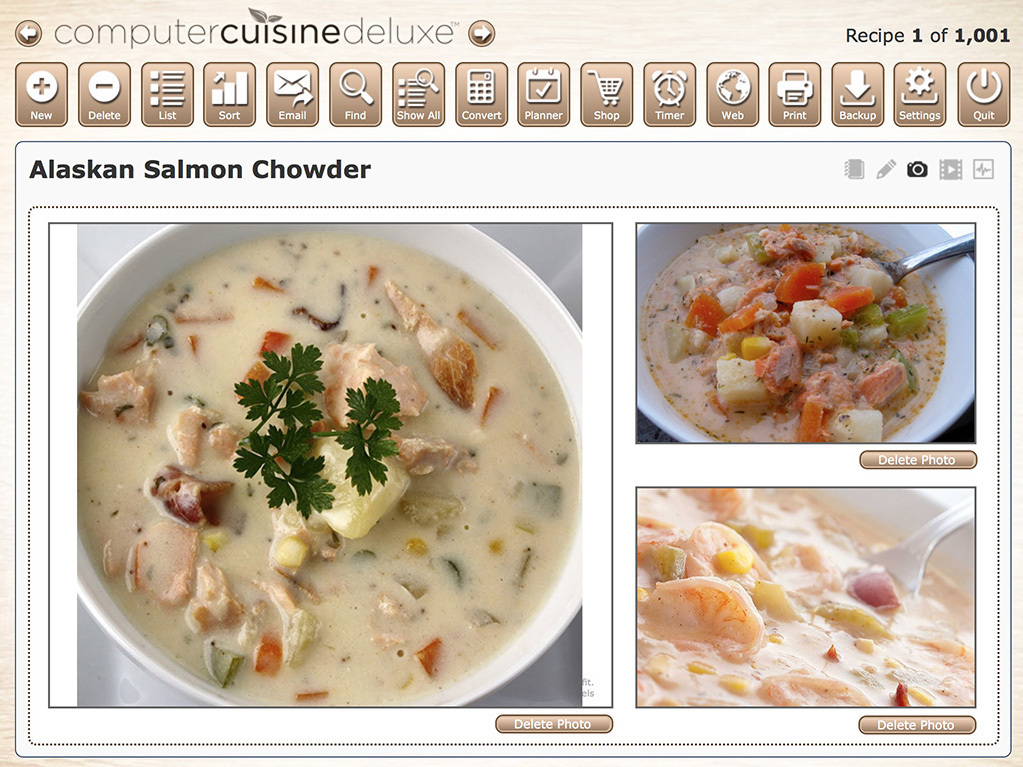 Screenshot 2 for Computer Cuisine Deluxe