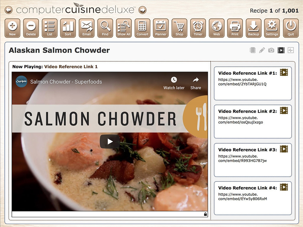 Screenshot 3 for Computer Cuisine Deluxe