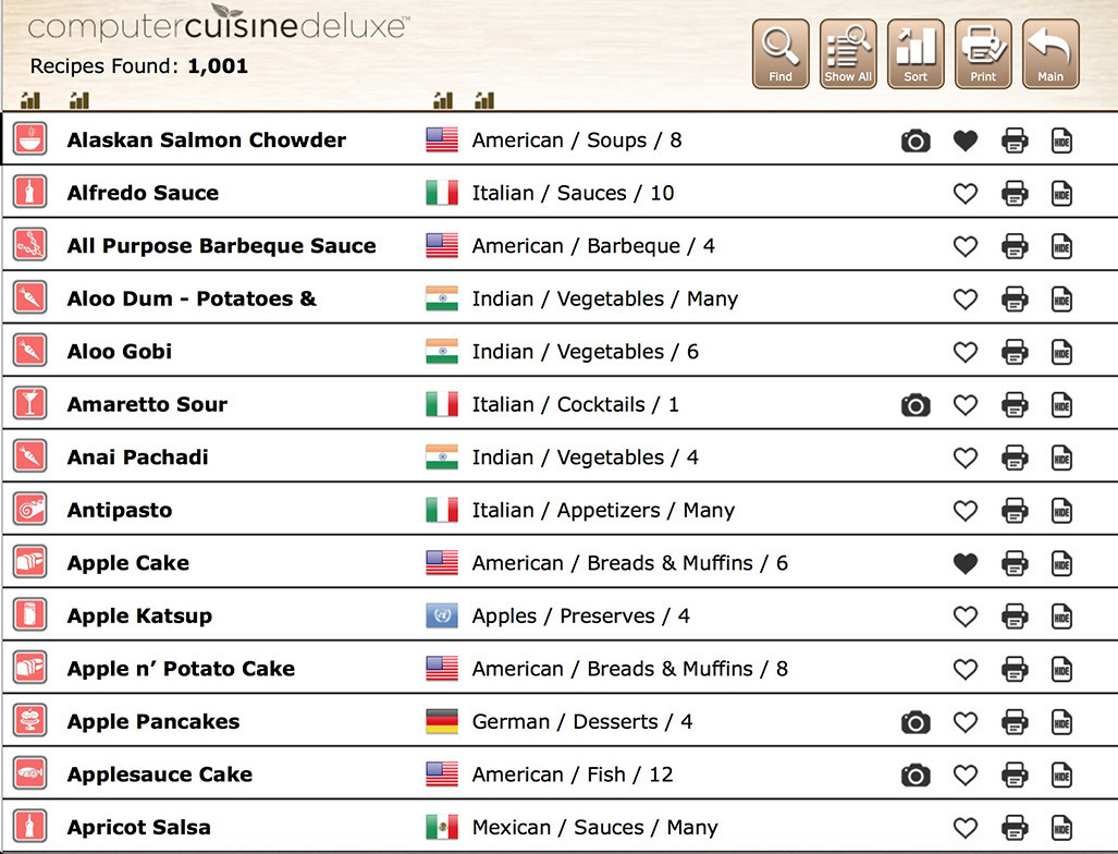 Screenshot 4 for Computer Cuisine Deluxe