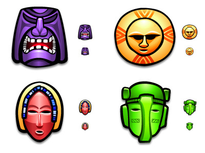 Screenshot 1 for Tribal Mask Icons