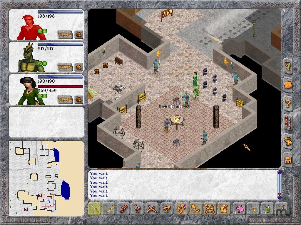 Screenshot 1 for Avernum 5