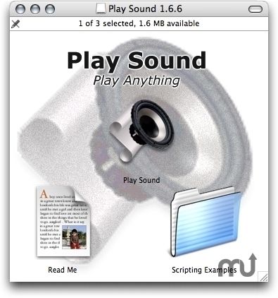 Screenshot 1 for Play Sound