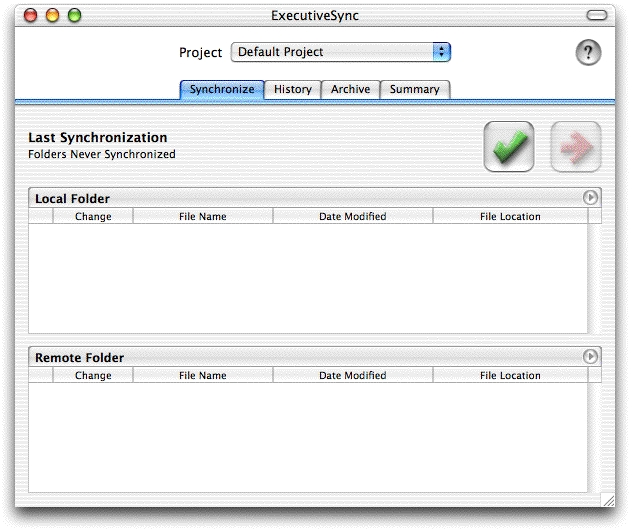 Screenshot 1 for ExecutiveSync