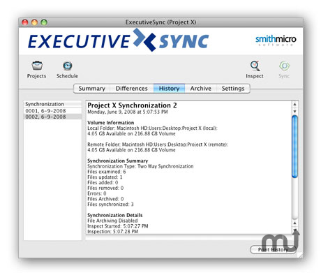 Screenshot 2 for ExecutiveSync