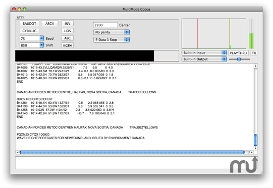 Screenshot 1 for MultiMode Cocoa