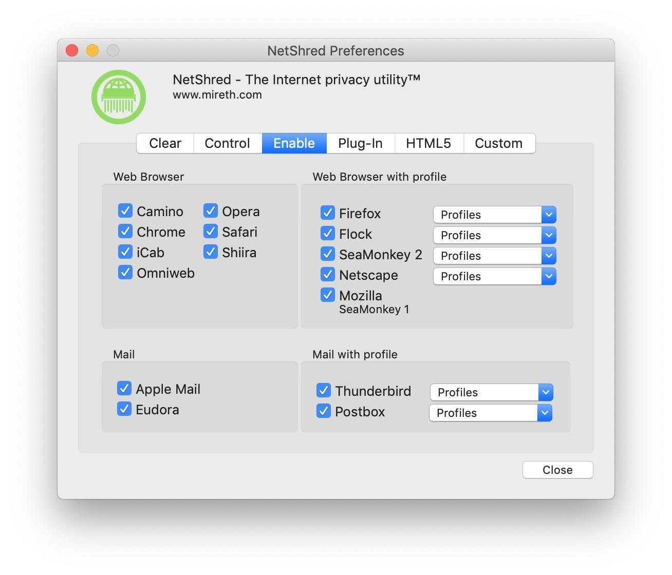NetShred X for Mac | MacUpdate