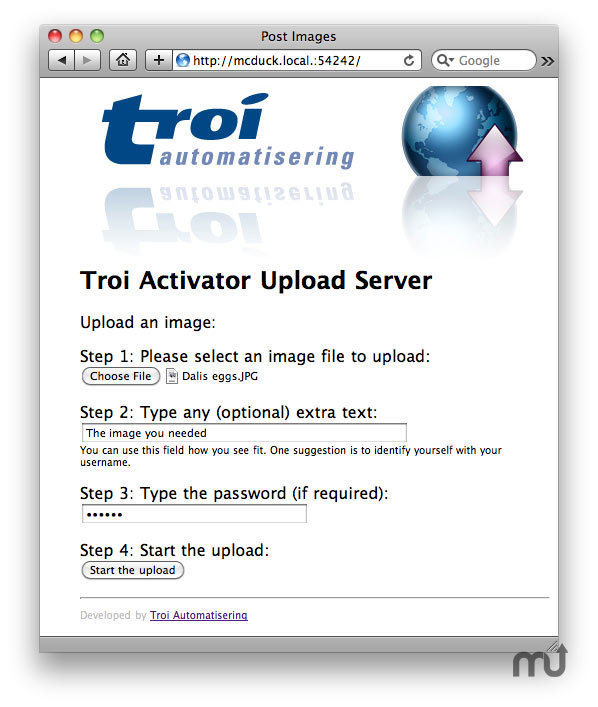Screenshot 1 for Troi Activator
