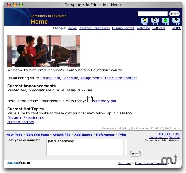 Screenshot 1 for CourseForum