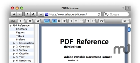 Screenshot 1 for PDF Browser Plugin