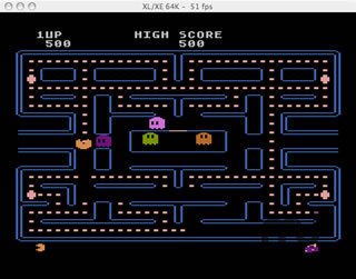 Screenshot 1 for Atari800MacX