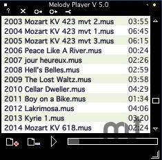 Screenshot 1 for Melody Player
