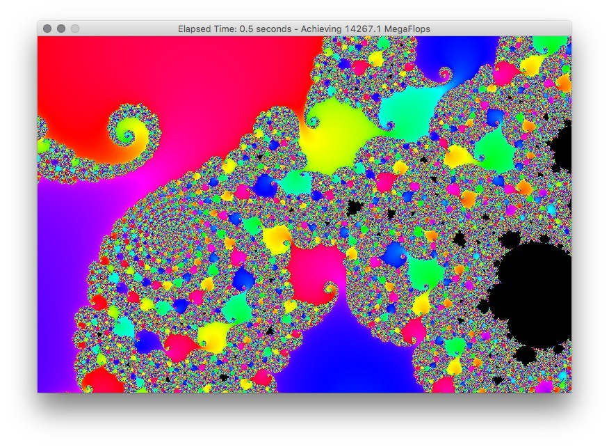 Screenshot 2 for Power Fractal