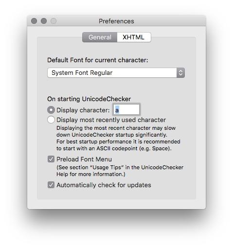 UnicodeChecker 1 21 1 Free Download for Mac | MacUpdate